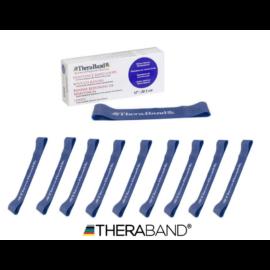 TheraBand™ Gumiszalag hurok 30,5 cm kék - 10 db / 1 doboz