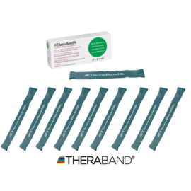 TheraBand™ Gumiszalag hurok 30,5 cm zöld - 10 db / 1 doboz
