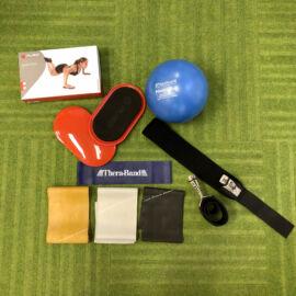 Otthoni edzés - alap szett - sportolói csomag