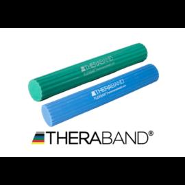 TheraBand Flexbar, hajlékony gumirúd - erősítő csomag (2 db-os, zöld és kék)