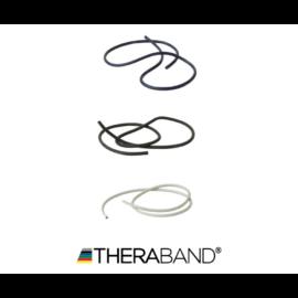 TheraBand erősítő gumikötél 1,4 m - haladó csomag (3 db-os, kék, fekete és ezüst)
