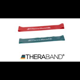 TheraBand™ Gumiszalag hurok 30,5 cm - kezdő csomag (2 db-os, piros és zöld)