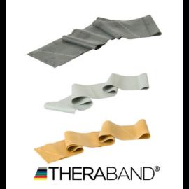 TheraBand erősítő gumiszalag 150 cm - sportolói csomag (3 db-os, fekete, ezüst és arany)