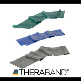 TheraBand erősítő gumiszalag 150 cm - haladó csomag (3 db-os, zöld, kék és fekete)