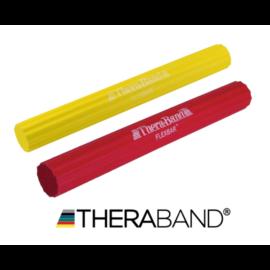 TheraBand Flexbar, hajlékony gumirúd - kezdő csomag (2 db-os, sárga és piros)