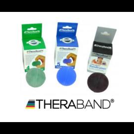 TheraBand HandTrainer kézerősítő gömb - haladó csomag (3 db-os, zöld, kék, fekete)