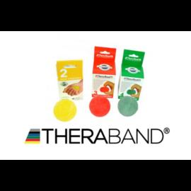 TheraBand HandTrainer kézerősítő gömb - kezdő csomag (3 db-os, sárga, piros, zöld)