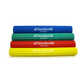 TheraBand Flexbar, hajlékony gumirúd - szett (4 db-os, sárga, piros, zöld és kék)