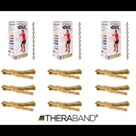 TheraBand CLX - 2,2 méteres, legerősebb, arany - 12 db / doboz