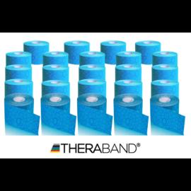 TheraBand kineziológiai tape kék, 5 cm x 5 m - 24 db / 1 doboz