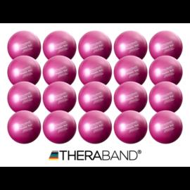 TheraBand pilates labda, átmérő 18 cm, lila - 20 db / doboz