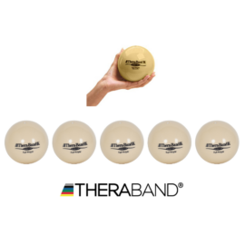 TheraBand súlylabda 0,5 kg, beige - 6 db / doboz