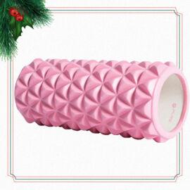 Pure2Improve jóga - masszázs henger - pink
