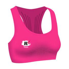 R-EVENGE rózsaszín sportmelltartó - 2 méretben