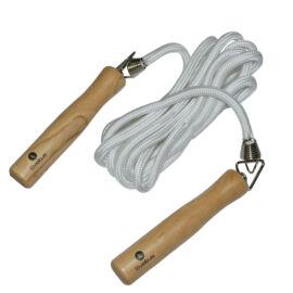 Sveltus ugrálókötél 3 m, fa fogantyúval és polipropilén kötéllel