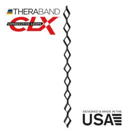 TheraBand CLX-Consecutive Loops 22 méteres szuper erős, fekete