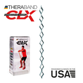 TheraBand CLX - Consecutive Loops 2,2 méteres speciálisan erős, ezüst