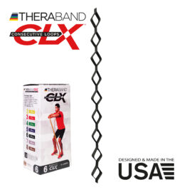 TheraBand CLX - Consecutive Loops 2,2 méteres szuper erős, fekete