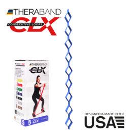TheraBand CLX - Consecutive Loops 2,2 méteres erős, kék - rehabilitációra is