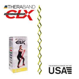 TheraBand CLX - Consecutive Loops 2,2 méteres gyenge, sárga - rehabilitációra