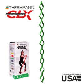 TheraBand CLX - Consecutive Loops 2,2 méteres közepesen erős, zöld - rehabilitációra