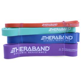 Dynamic Resistance Powerband, teljes csomag (4 db-os, narancssárga, zöld, kék és lila)