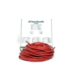 TheraBand™ Erősítő gumikötél 30,5 m, közepes, piros