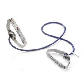 TheraBand™ Erősítő gumikötél flexibilis fogantyúval 1,4 m, extra erős, kék