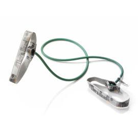 TheraBand™ Erősítő gumikötél flexibilis fogantyúval 1,4 m, erős, zöld