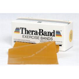 TheraBand™ Erősítő gumiszalag gurigában 5,5 m, legerősebb, arany