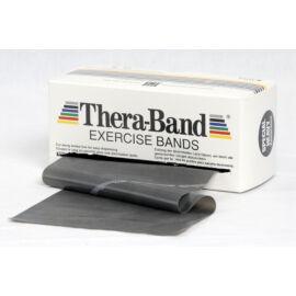 TheraBand™ Erősítő gumiszalag gurigában 5,5 m, szuper erős, fekete