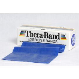 TheraBand™ Erősítő gumiszalag gurigában 5,5 m, extra erős, kék