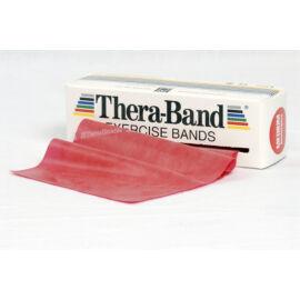 TheraBand™ Erősítő gumiszalag gurigában 5,5 m, közepes, piros