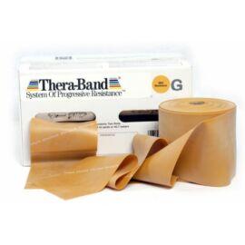 TheraBand™ Erősítő gumiszalag gurigában 45,5 m, legerősebb, arany