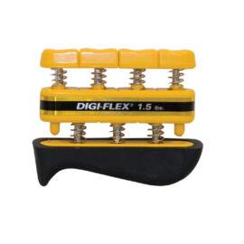Digi-Flex hand/finger exercise system, kéz/ujj erősítő, sárga, erősség: 0,7 kg - 2,3 kg