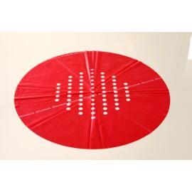 Piros színű csere gumilap