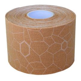 TheraBand kineziológiai tape 5 cm x 5 m, beige, beige mintával