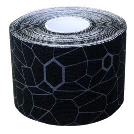 TheraBand kineziológiai tapasz 5 cm x 5 m, fekete, szürke mintával