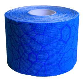 TheraBand kineziológiai tapasz 5 cm x 5 m, kék, kék mintával