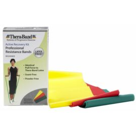 TheraBand Latexmentes erősítő gumiszalag 150 cm - kezdő csomag