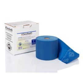 TheraBand™ Latexmentes gumiszalag 22 m, extra erős, kék