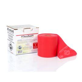 TheraBand™ Latexmentes gumiszalag 22 m, közepes, piros