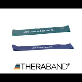 TheraBand™ Gumiszalag hurok 30,5 cm - haladó csomag (2 db-os, zöld és kék)