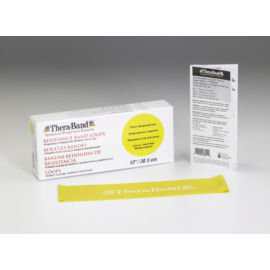 TheraBand™ Gumiszalag hurok 30,5 cm sárga