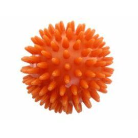 Kemény, tüskés masszírozó labda átm. 63 mm, orange