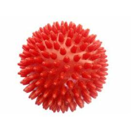 Kemény, tüskés masszírozó labda átm. 92 mm, piros