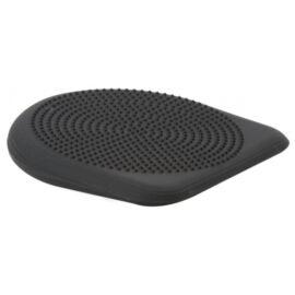 Togu® Dynair PREMIUM ék alakú, tüskés felszínű (senso) dinamikus ülőpárna + ajándék tűszelepes pumpa, fekete