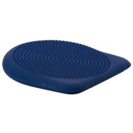 Togu® Dynair PREMIUM ék alakú, tüskés felszínű (senso) dinamikus ülőpárna + ajándék tűszelepes pumpa, sötét kék