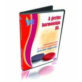 A gerinc harmóniája III. DVD: egyensúly fejlesztő gyakorlatok Dyn-Air ülőpárnával