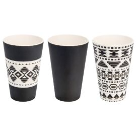 Woodway Aztec szett kávés pohár 3 x 400 ml